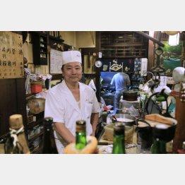 明神丸の永山四郎さん(C)日刊ゲンダイ