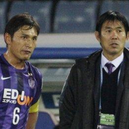 クラブワールドカップ2015での青山敏弘と森保監督