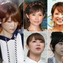 左から時計回りに吉澤ひとみ、安倍なつみ、辻希美、加護亜依、矢口真里