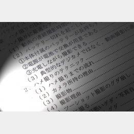 マニュアル本の目次(C)日刊ゲンダイ