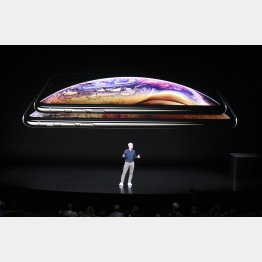 新型iPhone(C)共同通信社