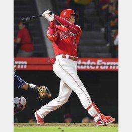 12日は二塁打を含む今季20回目のマルチ安打(C)共同通信社
