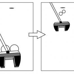 ボール2個を同時に打つと2つのことが同時にチェックできる