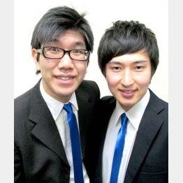 「がっつきたいか」市村雄介さん(左)と倉田哲史さん(C)ソニー・ミュージックアーティスツ