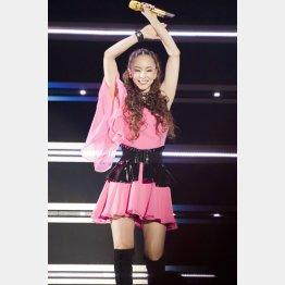 安室奈美恵は9月16日で引退(提供写真)