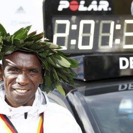 世界記録で連覇を達成したエリウド・キプチョゲ
