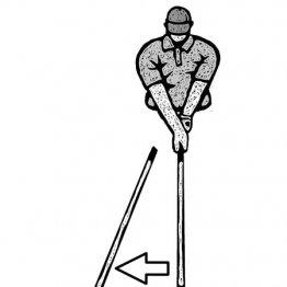 「テークバック始動10cmでスイングのテンポは決まる」