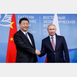 極東開発プランでプーチンをその気にさせた習近平国家主席(C)共同通信社
