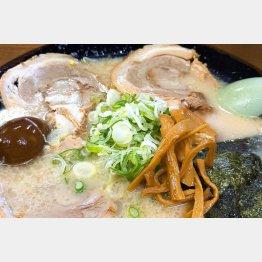 チャーシュー麺1000円(C)日刊ゲンダイ