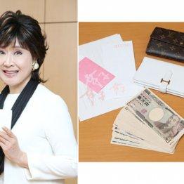 小林幸子さん 衣装と同じ白のエルメス長財布に44万2000円