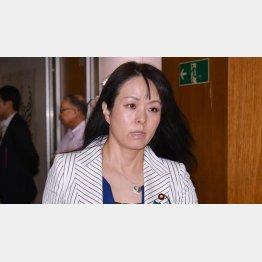 批判を浴びた杉田水脈議員(C)日刊ゲンダイ