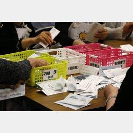 地方票が反乱を起こした(C)日刊ゲンダイ