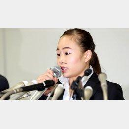 犠牲のなるのはいつも選手(写真は宮川紗江)/(C)日刊ゲンダイ