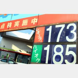 ガソリン価格は170円超えも(C)日刊ゲンダイ