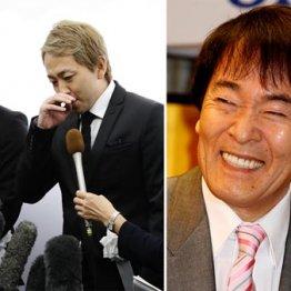 平尾さんの葬儀で喪主を務めた次男・亜希矢さん(左)と三男・勇気