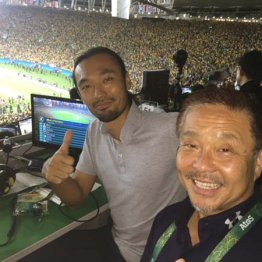 リオ五輪で解説の戸田和幸さんと
