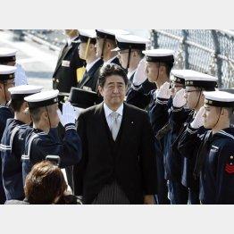安倍政権の防衛予算は6年連続増(C)日刊ゲンダイ
