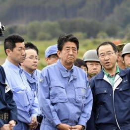 総裁選中とは大違い 首都圏に台風直撃も安倍首相ダンマリ