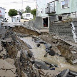 北海道でも台風接近直後に震度7の地震