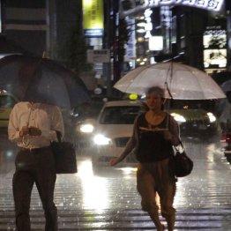 大雨の夜は注意が必要(写真はイメージ)