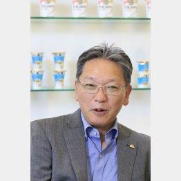 小岩井乳業 村松道男社長(C)日刊ゲンダイ