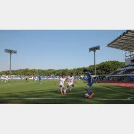 スタジアムの改修は進んでいない(C)Norio ROKUKAWA/office La Strada