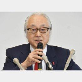 日本郵政の長門社長(C)日刊ゲンダイ