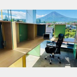 コワーキングスペース「anyplace.work 富士吉田」(提供写真)