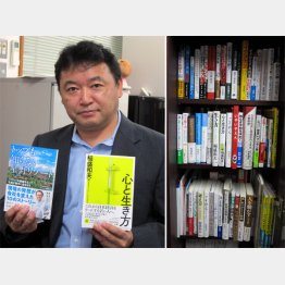 ダイセイコーの青柳芳英社長(C)日刊ゲンダイ