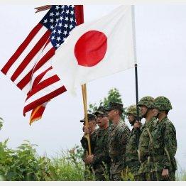 日米合同演習(C)共同通信社