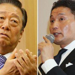 小沢一郎・自由党代表と元貴乃花親方