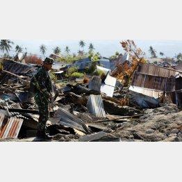 インドネシア地震の犠牲者はさらに増えそう(C)ロイター=共同