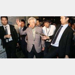 赤坂の料亭で会合を開いた小泉純一郎元首相(C)日刊ゲンダイ