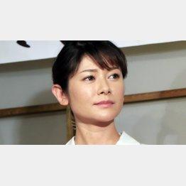 真木よう子(C)日刊ゲンダイ