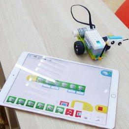 レゴで作ったロボットをiPadで操作(3rd SCHOOL)