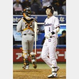 山田は2試合で6タコ4三振(C)日刊ゲンダイ
