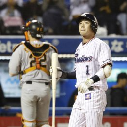 山田は2試合で6タコ4三振