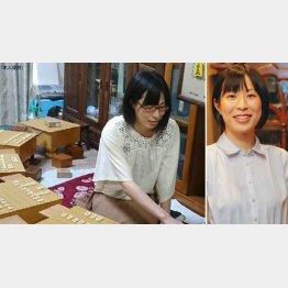 女流棋士の加藤圭さん(C)日刊ゲンダイ