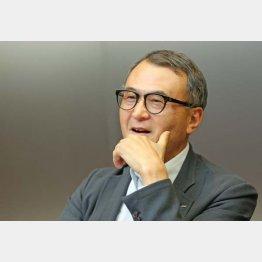 貝印の遠藤宏治社長(C)日刊ゲンダイ
