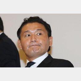 平気で暴走(C)日刊ゲンダイ