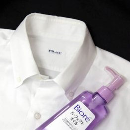 ワイシャツの黄ばみ・黒ずみ汚れは4つの道具で落とせる
