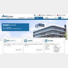 西京銀行(HPから)