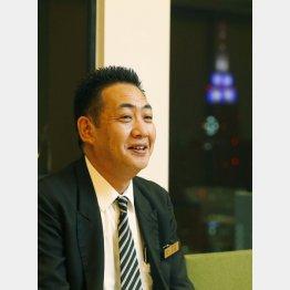 「京王プラザホテル」料飲部料飲オフィス 支配人・加藤卓志さん(C)日刊ゲンダイ