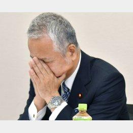 お友達の安倍首相が復権させる(甘利自民党選対委員長)/(C)日刊ゲンダイ