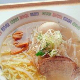 戸田競艇のラーメン昇龍 シンプルが一番とうなずいた塩味