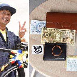 安田大サーカス・団長安田 財布にはナンちゃって1万円札が