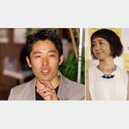 オリエンタルラジオの中田敦彦と妻・福田萌(C)日刊ゲンダイ