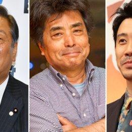 (左から)小沢一郎、村上龍、大泉洋の3氏は2浪している