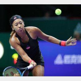 WTAファイナルは連敗スタート(C)共同通信社