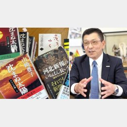 千葉テレビ放送社長の篠塚泉さん(C)日刊ゲンダイ